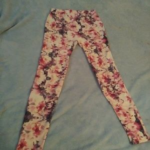 Cute Floral Leggings